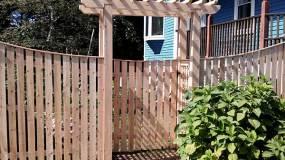 Stoneham Cedar Fence & Pergola