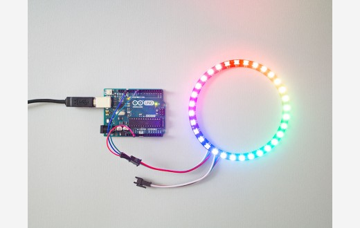 Animate Your Own Pixels with Arduino