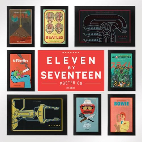 Eleven X Seventeen Poster Co.
