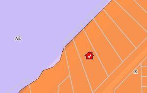Lake Erie FEMA Flood Map