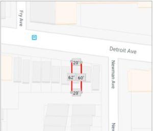 SIngle Family Townhouse Plat Map