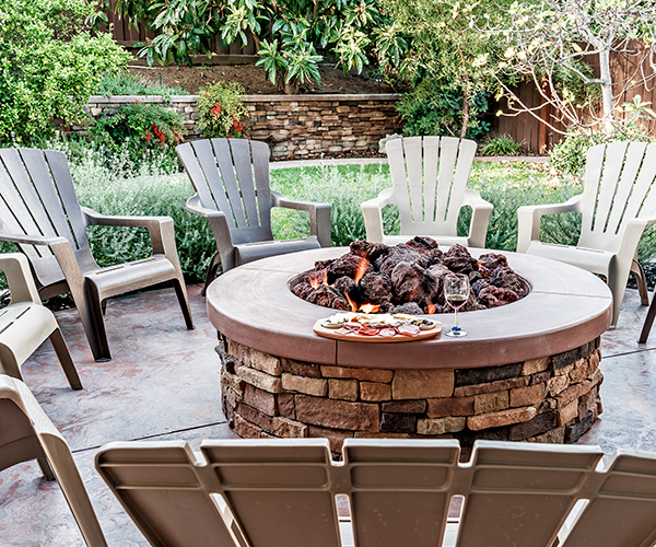 stoke your backyard fire pit with these