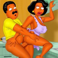 Cleveland Brown nailed sexy Donna Tubbs