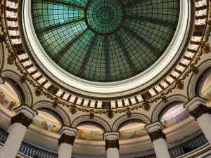 Heinen's rotunda dome