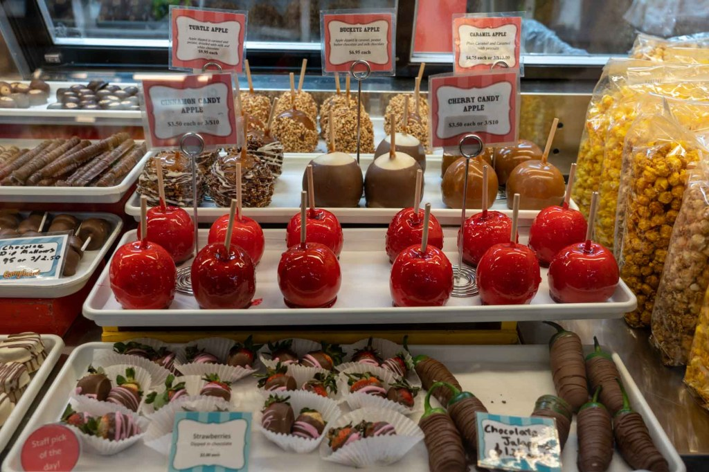 Sweet treats at West Side Market