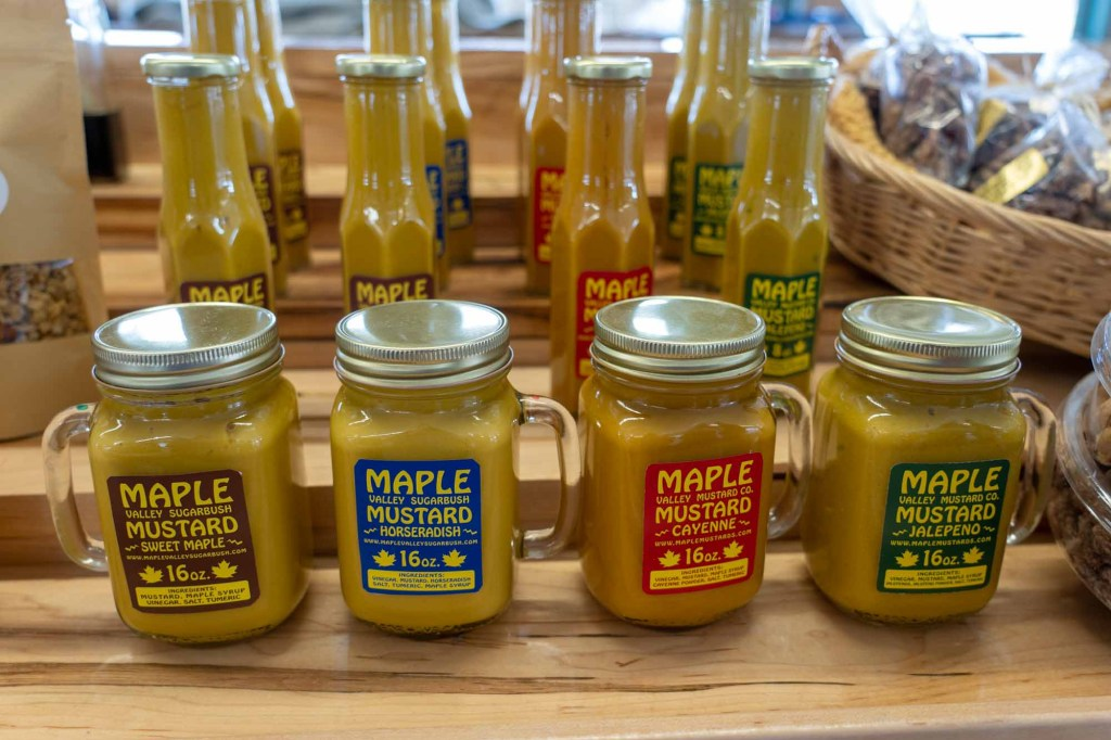 Maple mustard at West Side Market