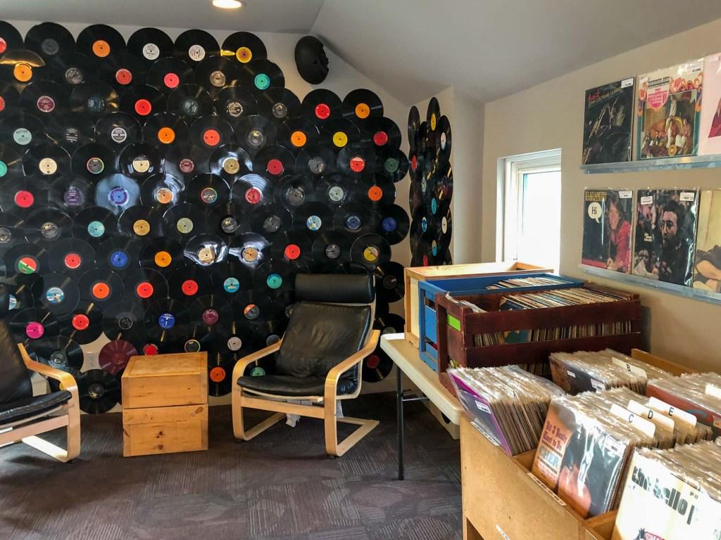 Record store at LOOP