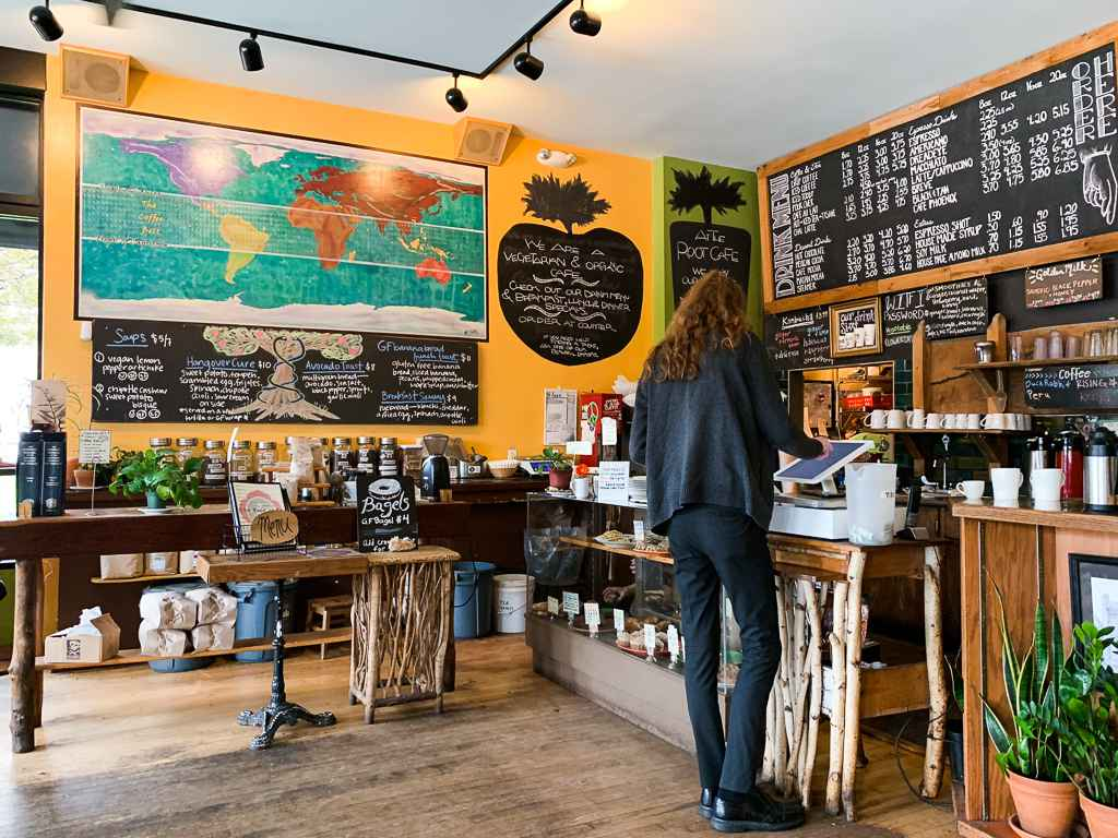 Inside The Root Cafe in Lakewood