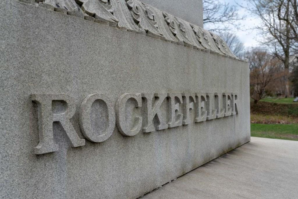 Rockefeller grave site