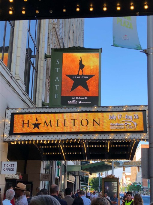 Hamilton at Playhouse Square