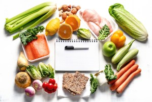 photo of a healthy diet plan