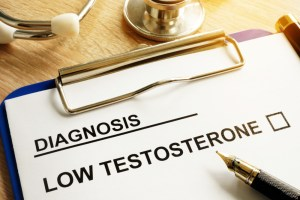 diagnosis of low testosterone on paper