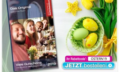 Ostern Gutscheinbuch