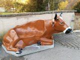 Kuh am Rheinfall