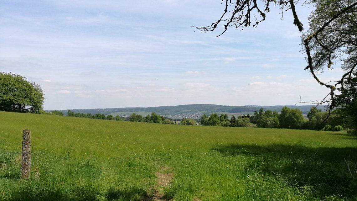 Ausblick über den Westerwald