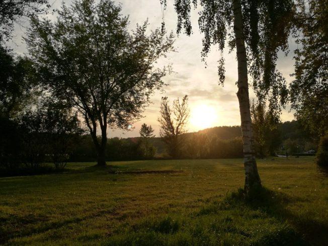 Sonnenuntergang am Wiesensee