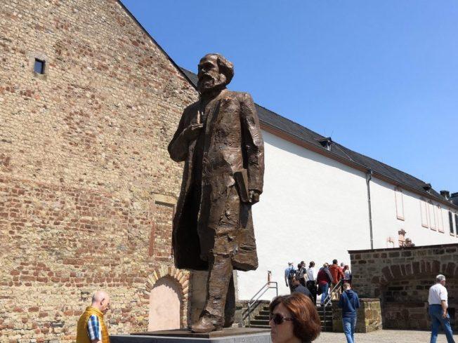 Karl Marx Statue in Trier