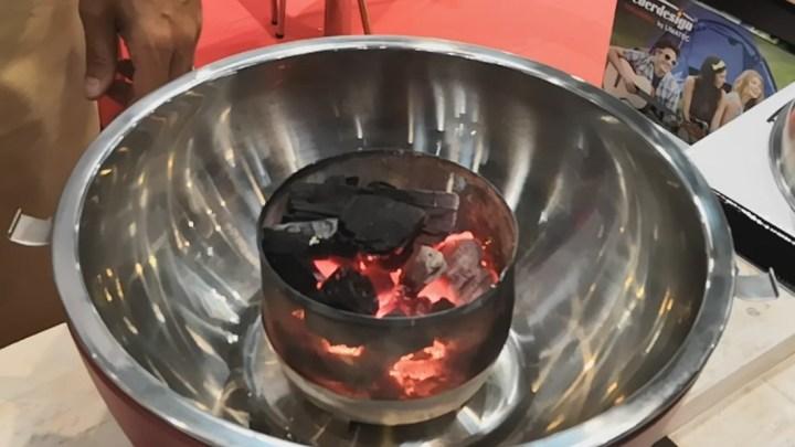 Grill Feuerdesign