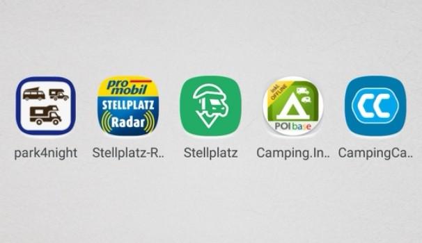 Stellplatz App - wie man den richtigen Wohnmobil-Stellplatz finden kann