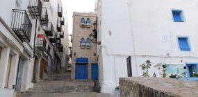 In der Altstadt von Peníscola