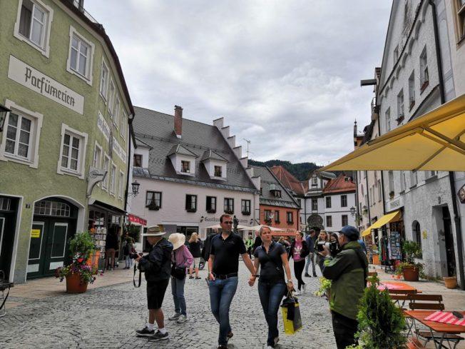 In der Füssener Altstadt