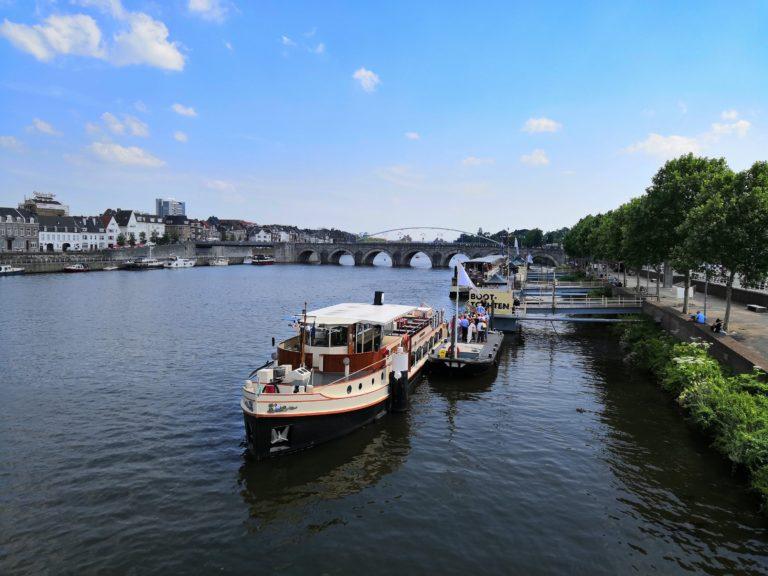 Die Maas in Maastricht