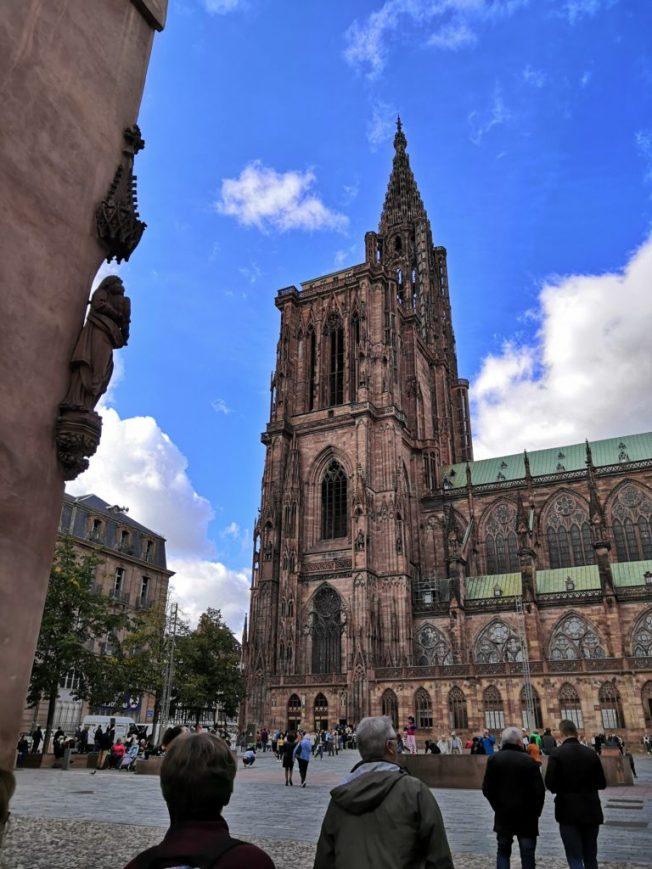 Straßburger Münster Seitenansicht
