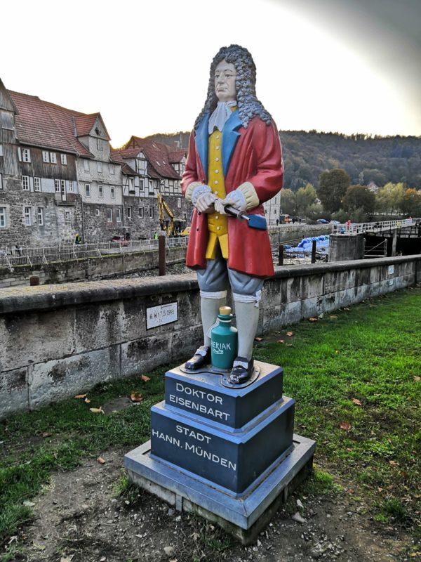Doktor Eisenbart war eine Größe in Hann. Münden
