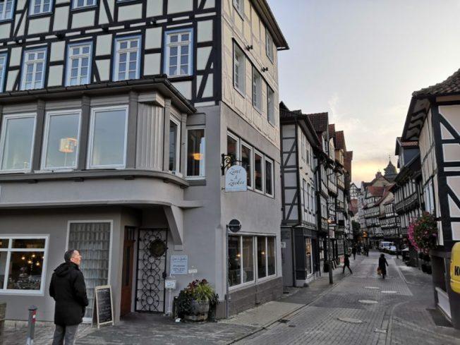 In der Altstadt Hann. Münden