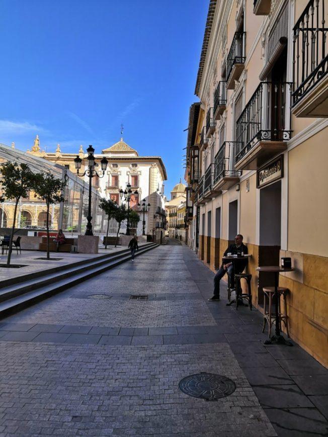 Plaza de Espana in Lorca