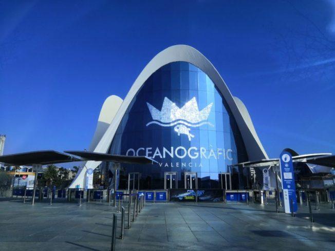 Oceanaografic, Ciudad des las artes y las ciencias
