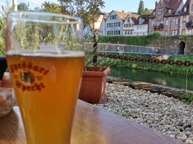 An der Tauber in Wertheim
