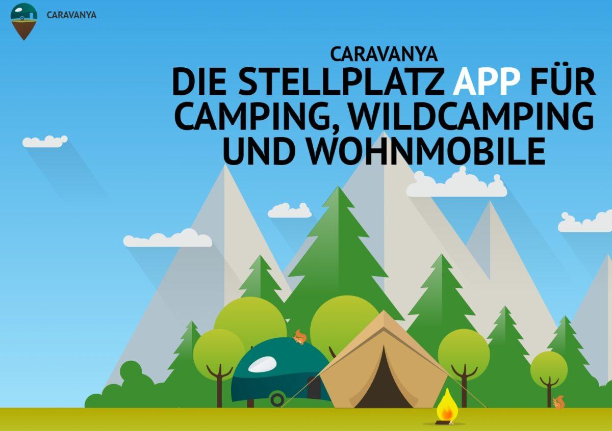 Caravanya, die etwas andere Stellplatz-App