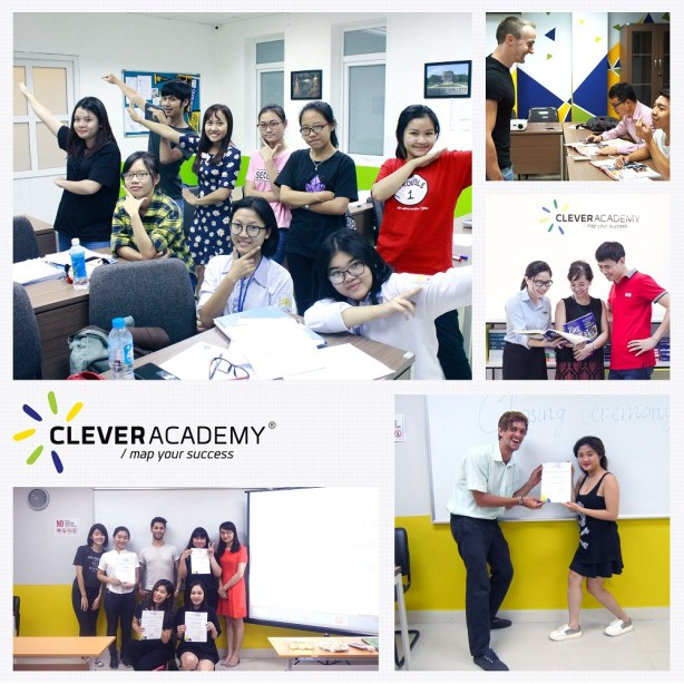 hoc sinh Clever Academy