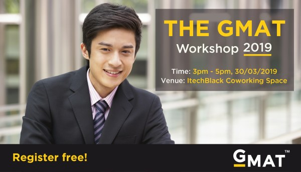 GMAT Workshop 2019 - Học Hỏi Kinh Nghiệm Ôn Thi GMAT