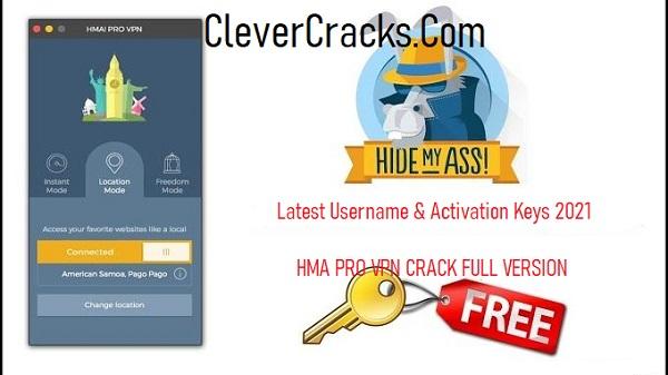HMA Pro VPN Crack With registration Code 2021