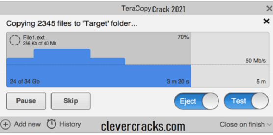 TeraCopy Pro Crack + Keygen 2021