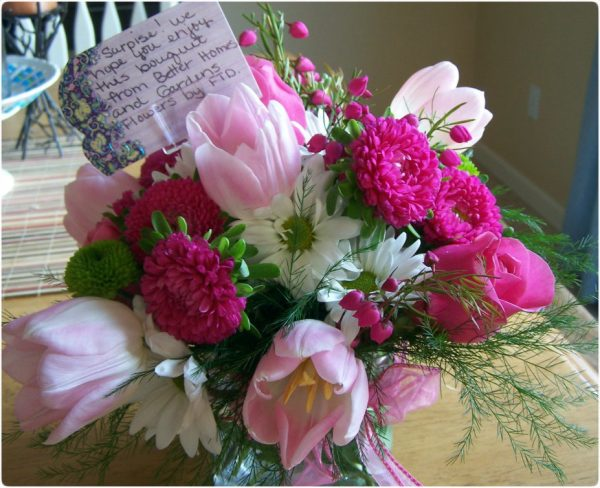 Better Homes And Gardens Flower Arrangement Giveaway From FTD
