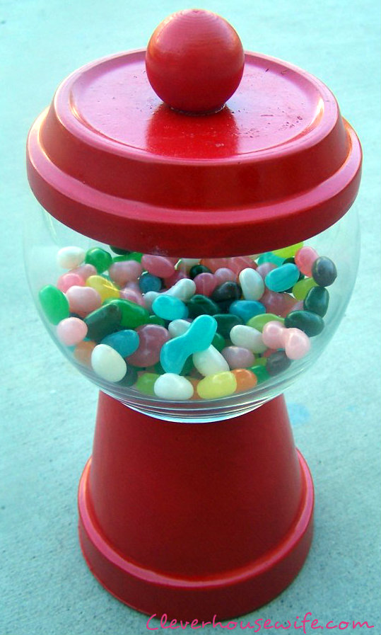 DIY Gumball Machine Clever Housewife