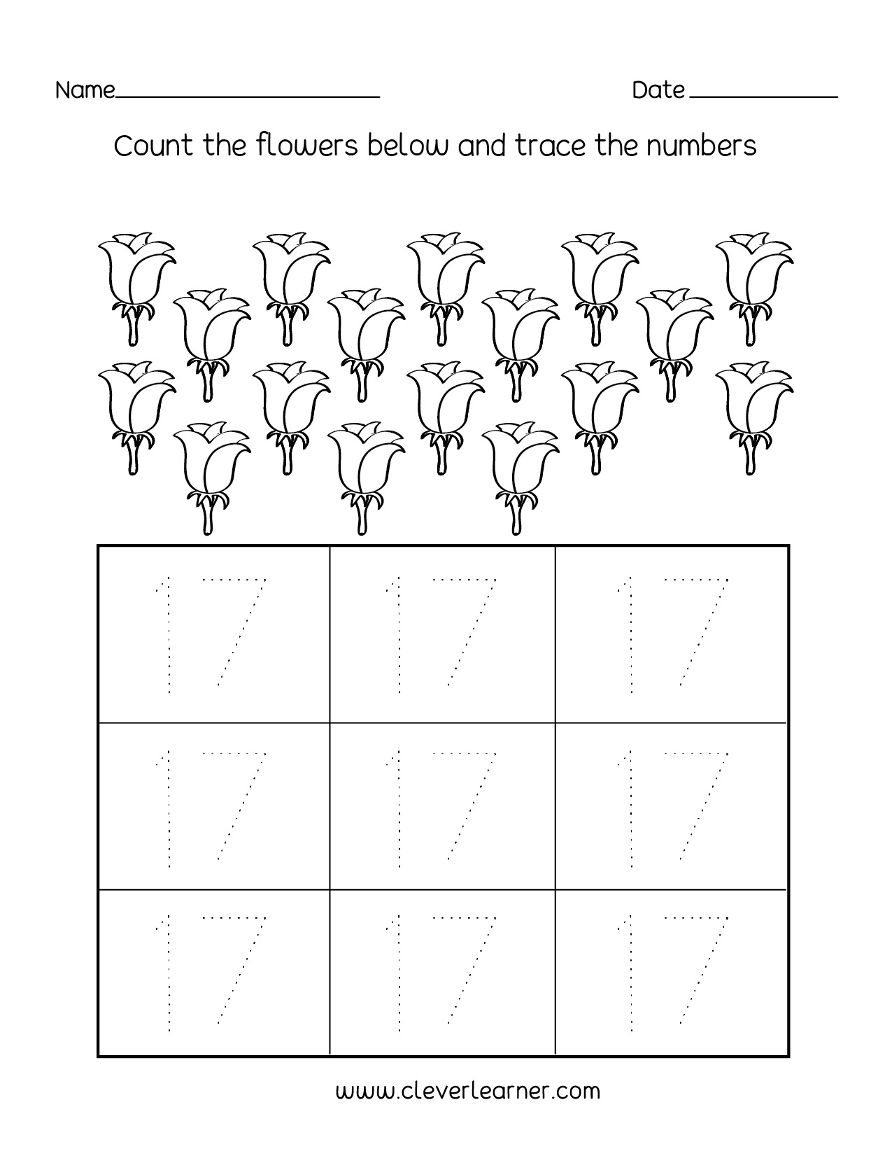 Printable Preschool Worksheets Number 11