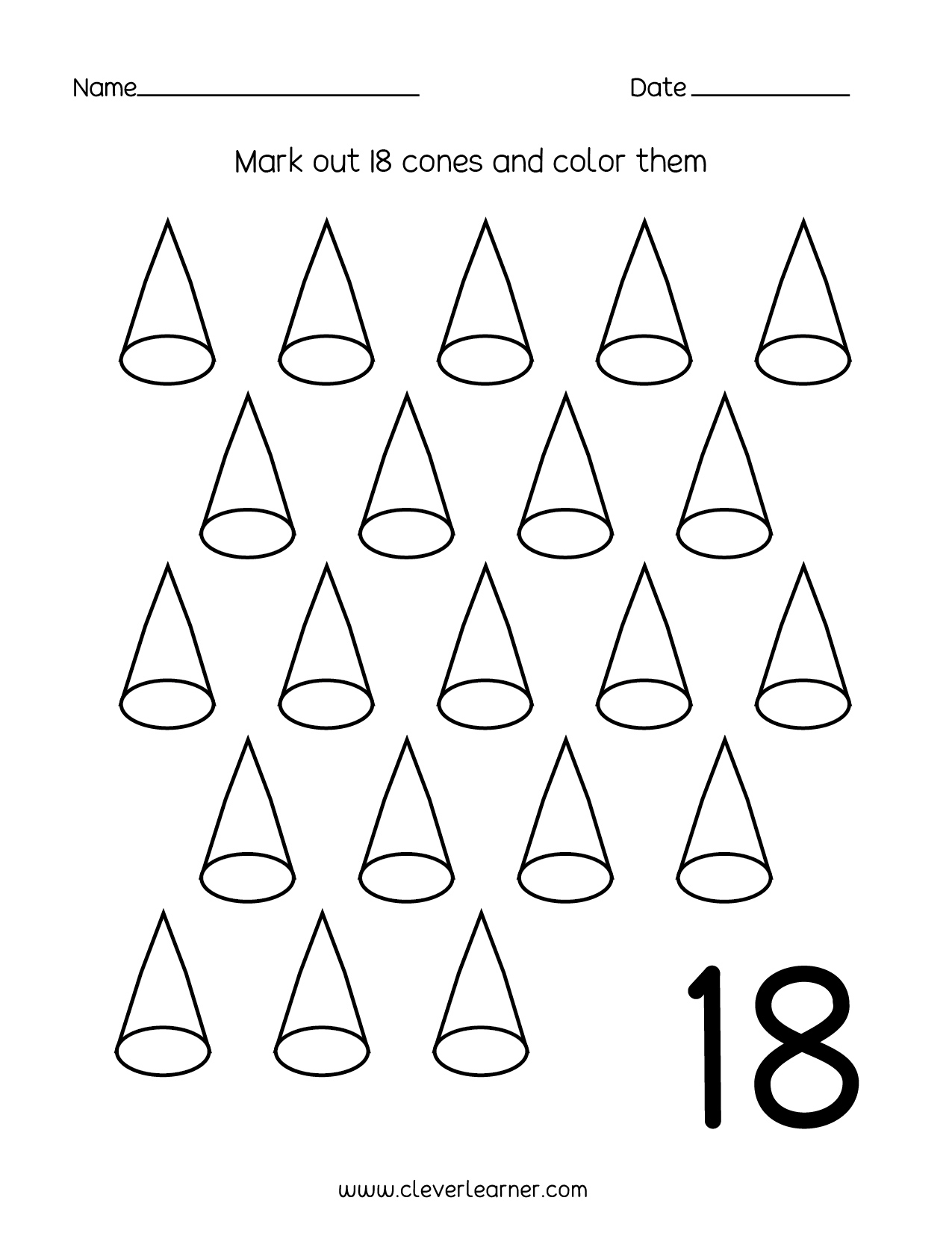 Counting Backwards 100 Worksheet