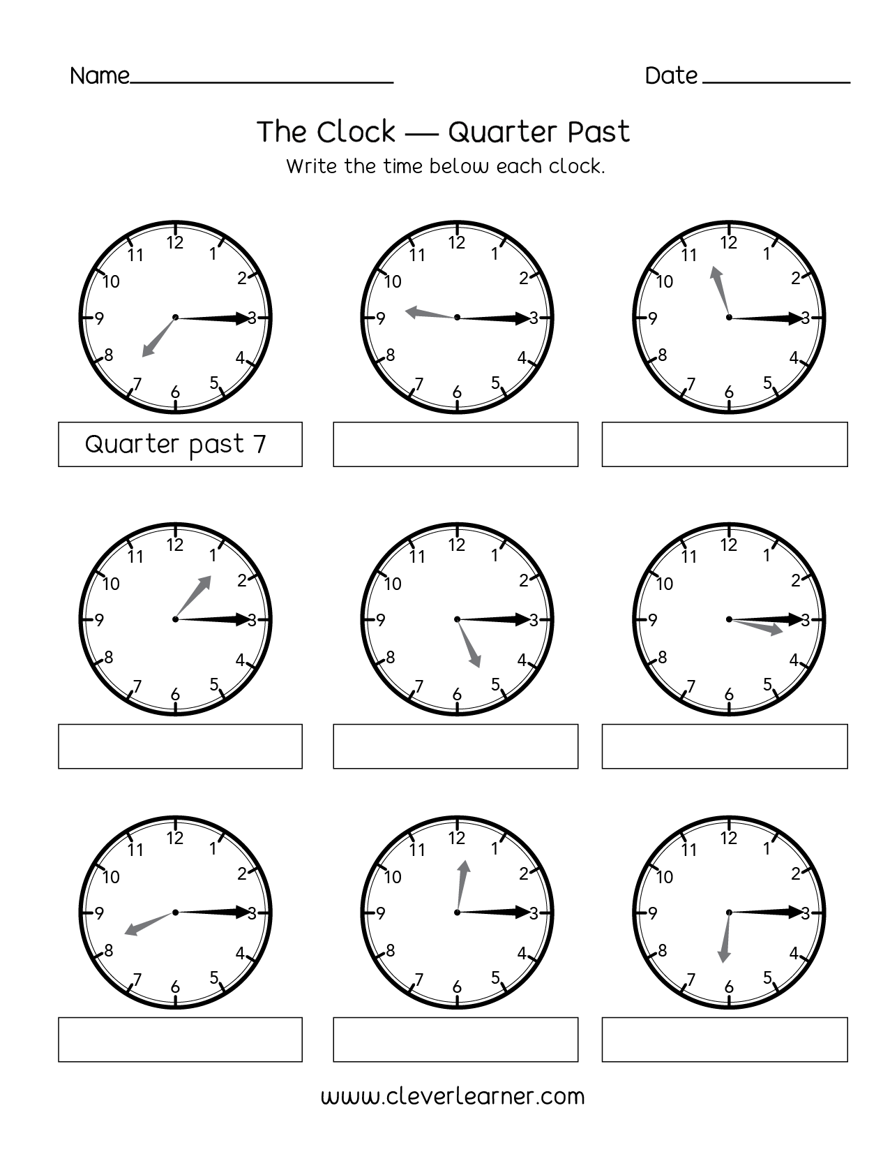 Elapsed Time Worksheet Half Hour