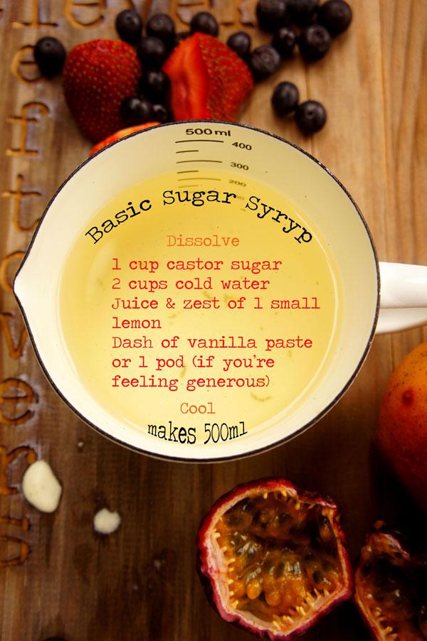 Basic Sugar Syrup
