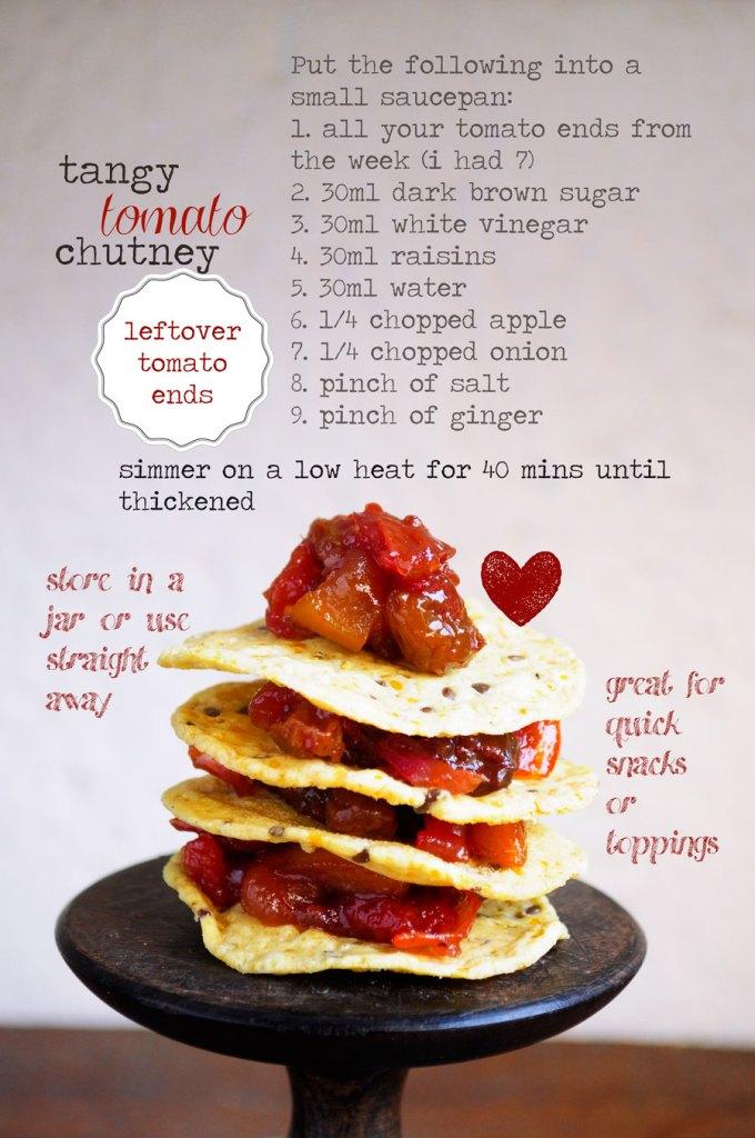 Tangy Tomato Chutney Recipe