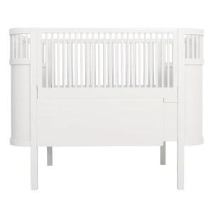 Kili Baby Cot & Junior Bed - White
