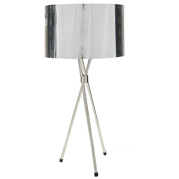 Tri Table Lamp - Chrome
