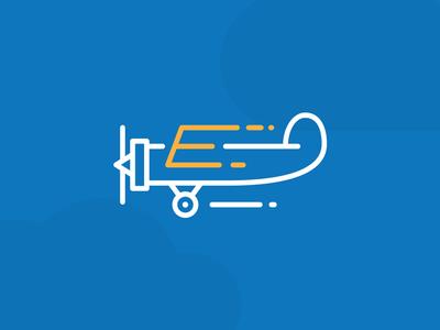 E Plane by LeoLogos.com | Smart Logos Designer