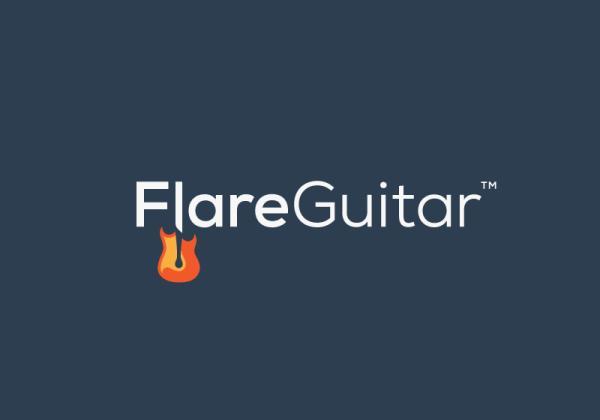 Branding for the FlareGuitar website