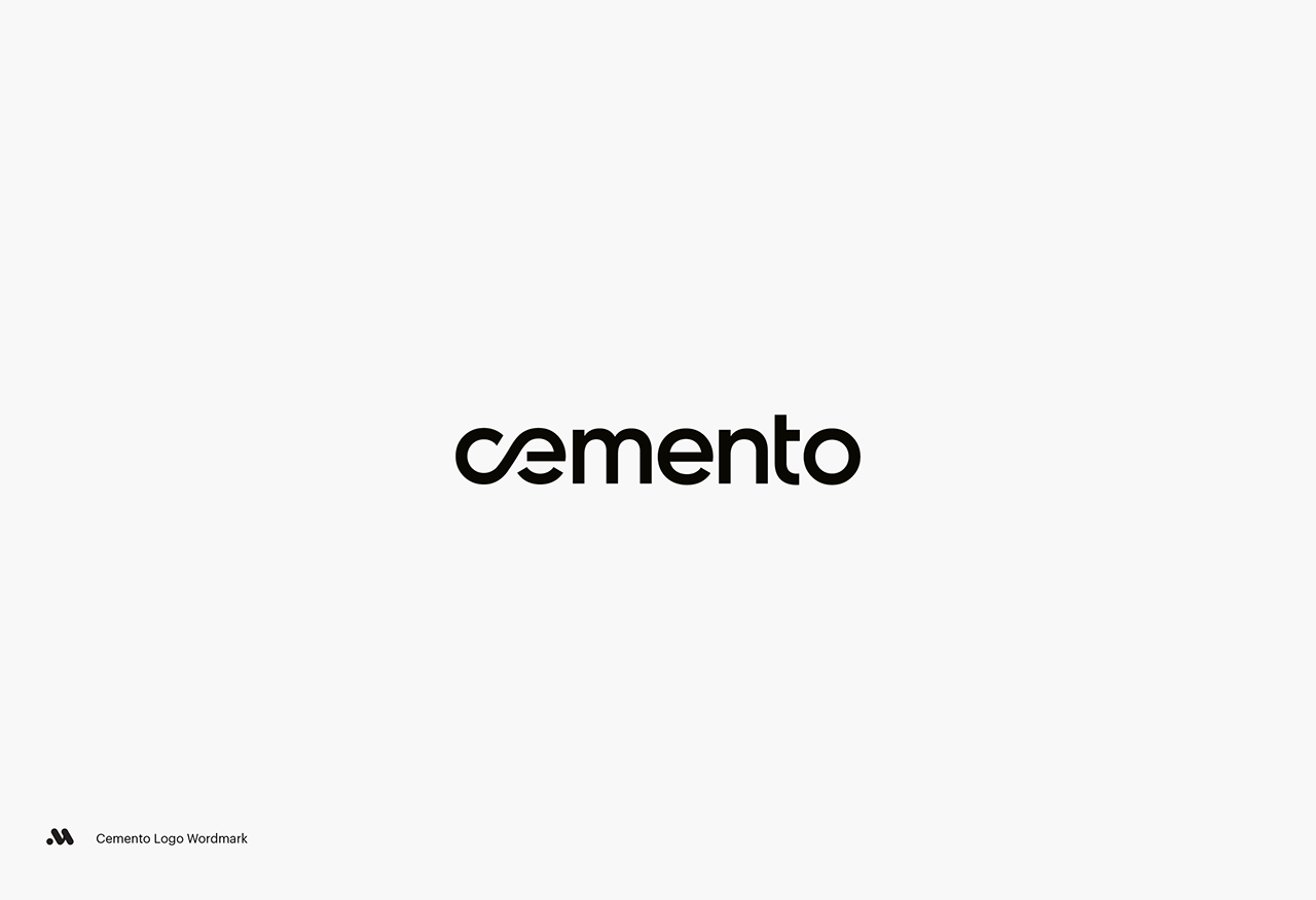 Cemento by Matis Branding