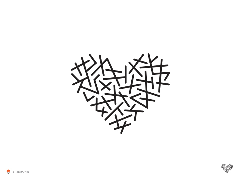 Heart Lines* by George Bokhua